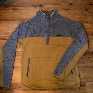 Kavu half zip, pull over jacket.